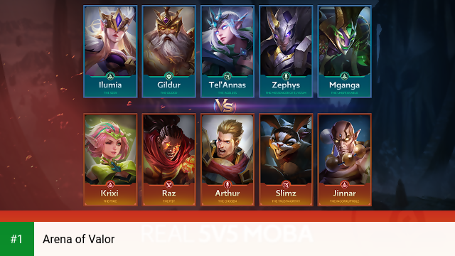 Arena of Valor app screenshot 1