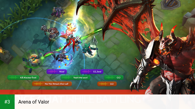 Arena of Valor app screenshot 3