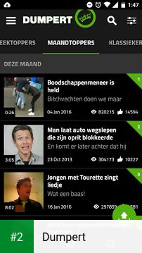 Dumpert apk screenshot 2
