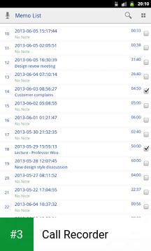 Call Recorder app screenshot 3
