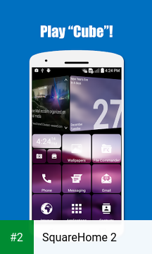 SquareHome 2 apk screenshot 2