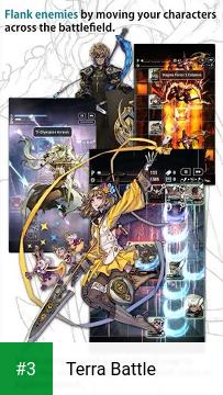Terra Battle app screenshot 3