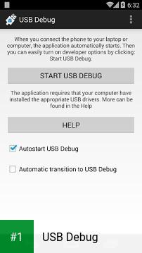 USB Debug app screenshot 1