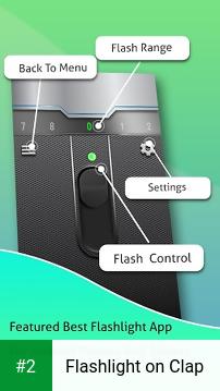 Flashlight on Clap apk screenshot 2