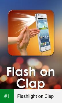 Flashlight on Clap app screenshot 1