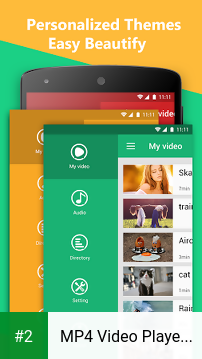 MP4 Video Player for Android apk screenshot 2