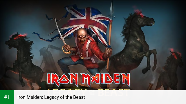 Iron Maiden: Legacy of the Beast app screenshot 1