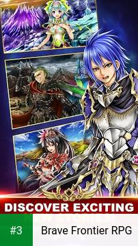 Brave Frontier RPG app screenshot 3