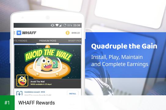 WHAFF Rewards app screenshot 1