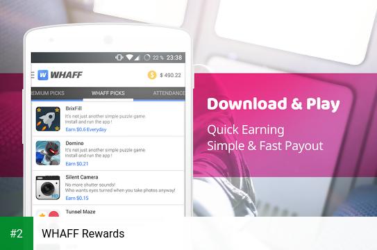 WHAFF Rewards apk screenshot 2
