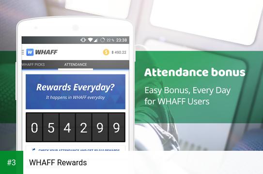 WHAFF Rewards app screenshot 3