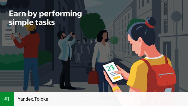 Yandex.Toloka app screenshot 1