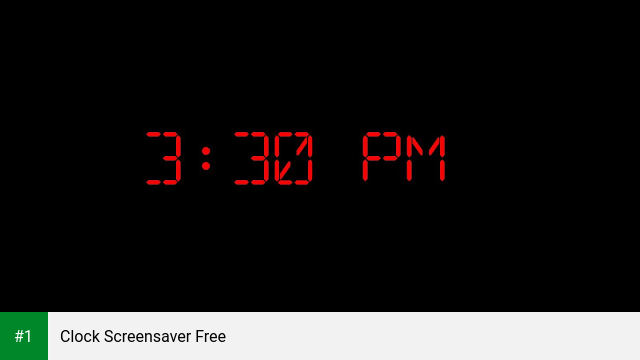 Clock ScreenSaver On Android