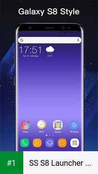 SS S8 Launcher for Galaxy S8 - Theme, Icon pack app screenshot 1