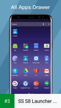 SS S8 Launcher for Galaxy S8 - Theme, Icon pack app screenshot 3