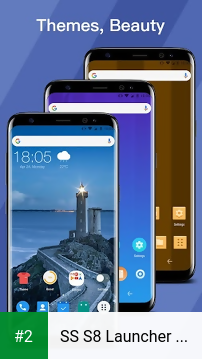 SS S8 Launcher for Galaxy S8 - Theme, Icon pack apk screenshot 2