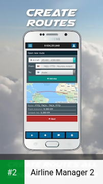 Airline Manager 2 apk screenshot 2