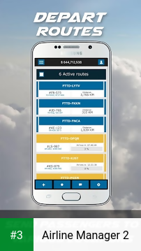 Airline Manager 2 app screenshot 3