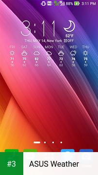 ASUS Weather app screenshot 3