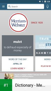Dictionary - Merriam-Webster app screenshot 1