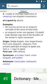 Dictionary - Merriam-Webster app screenshot 3