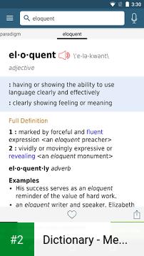 Dictionary - Merriam-Webster apk screenshot 2