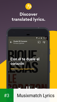 Musixmatch Lyrics app screenshot 3