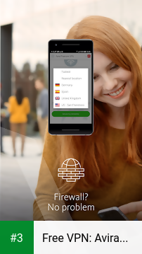 Free VPN: Avira Phantom VPN app screenshot 3