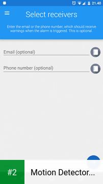 Motion Detector Pro apk screenshot 2