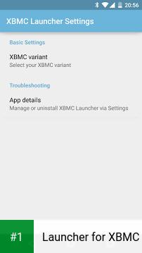 Launcher for XBMC app screenshot 1