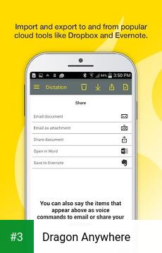 Dragon Anywhere app screenshot 3