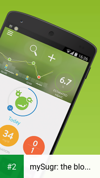 mySugr: the blood sugar tracker made just for you apk screenshot 2