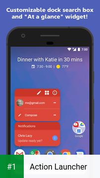 Action Launcher app screenshot 1