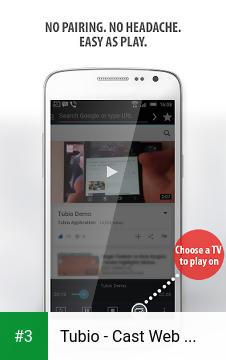 Tubio - Cast Web Videos to TV, Chromecast, Airplay app screenshot 3