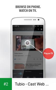 Tubio - Cast Web Videos to TV, Chromecast, Airplay apk screenshot 2