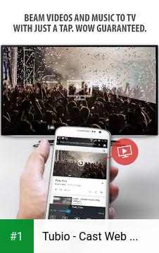 Tubio - Cast Web Videos to TV, Chromecast, Airplay app screenshot 1