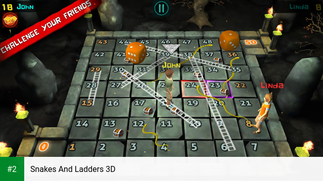 Snakes And Ladders 3D apk screenshot 2