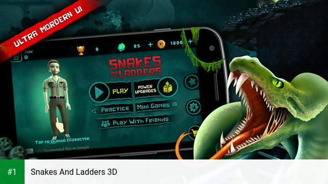 Snakes And Ladders 3D app screenshot 1