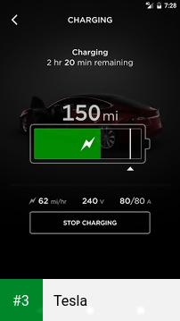 Tesla app screenshot 3
