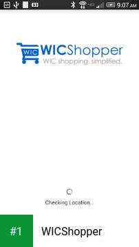 WICShopper app screenshot 1