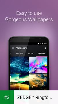 ZEDGE™ Ringtones & Wallpapers app screenshot 3