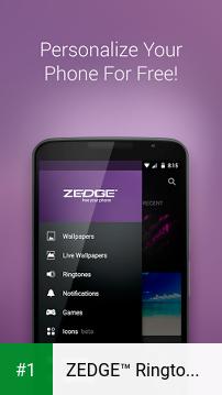 ZEDGE™ Ringtones & Wallpapers app screenshot 1