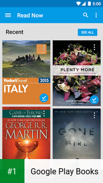 Google Play Books app screenshot 1