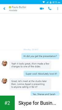 Skype for Business for Android apk screenshot 2