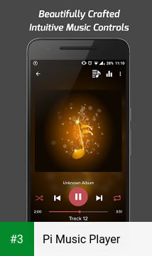 Pi Music Player app screenshot 3