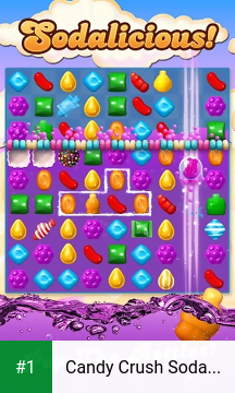 Candy Crush Soda Saga app screenshot 1