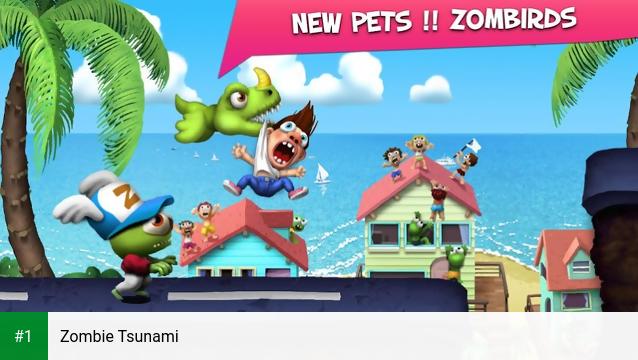 Zombie Tsunami app screenshot 1
