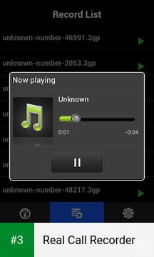 Real Call Recorder app screenshot 3