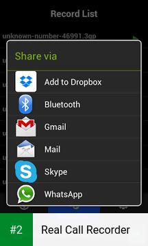 Real Call Recorder apk screenshot 2