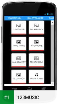 123MUSIC app screenshot 1